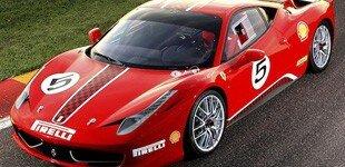 The Ferrari 458 Italia Challenge