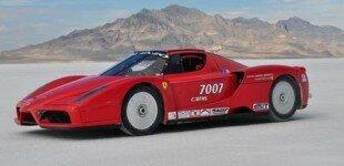 Twin-Turbo Ferrari Enzo Sets 238 MPH Record