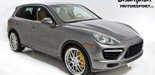 Porsche Cayenne Turbo W/ Champion Motorsport Forged RG5B Wheels