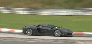 Lamborghini Jota takes to the track.