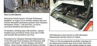 Momentum Hosts Porsche Performance Breakfast