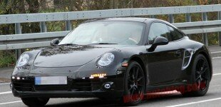 New Porsche 911 Spy Shots!
