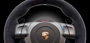 Porsche 911 GT2 gaming wheel.