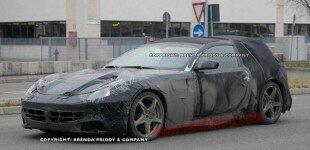 Spy Shots: Ferrari 612 Scaglietti