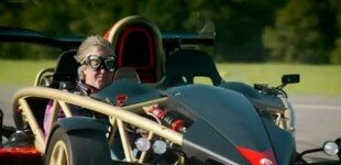 James May and the Ariel Atom V8