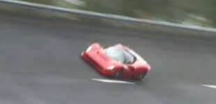 Ferrari P4/5 by Pininfarina undergoes high-speed testing