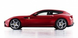 Ferrari's fantastic four-wheel-drive FF flagship four-seat fastback