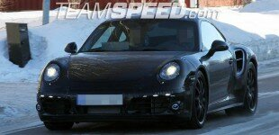 Exclusive Photos Of The Next 911 Turbo