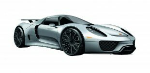 Porsche's Plug-In Hybrid 918 Spyder Goes from Dream to Reality