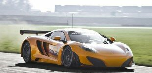 McLaren takes first MP4-12C GT3 out for Silverstone test