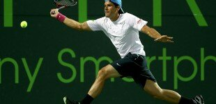 Champion Porsche Sponsored, Tommy Haas Upsets Djokovic In The 4th Round | Sony Open 2013