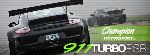 Champion Motorsport Turbo RSR Cover