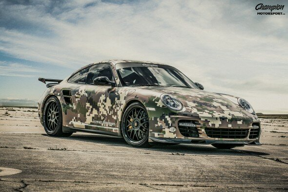 Champion Motorsport Porsche 997.2 Turbo S