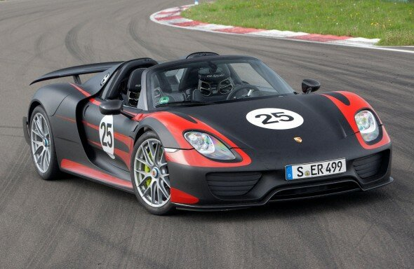 Porsche 918 Spyder Production 2