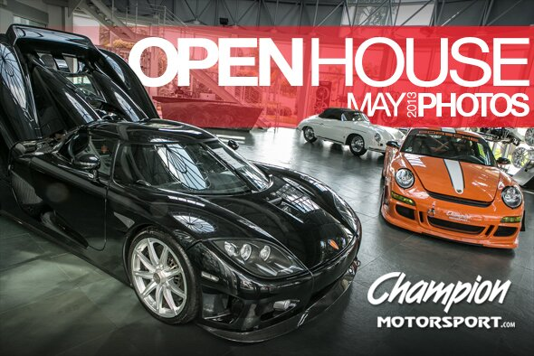 Champion Motorsport OPENhouse Event May 2013 Photos