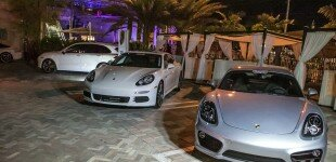 Champion Porsche Sponsors Starlight Childrens Foundation Charity Event At LMNT Miami