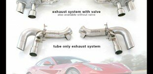 New Exhaust Systems Now Available For Ferrari F12!