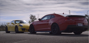 Motor Trend Compares The GT3 vs Z28