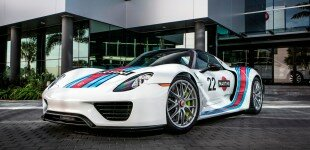 Martini Racing 918 Spyder @ Champion Porsche