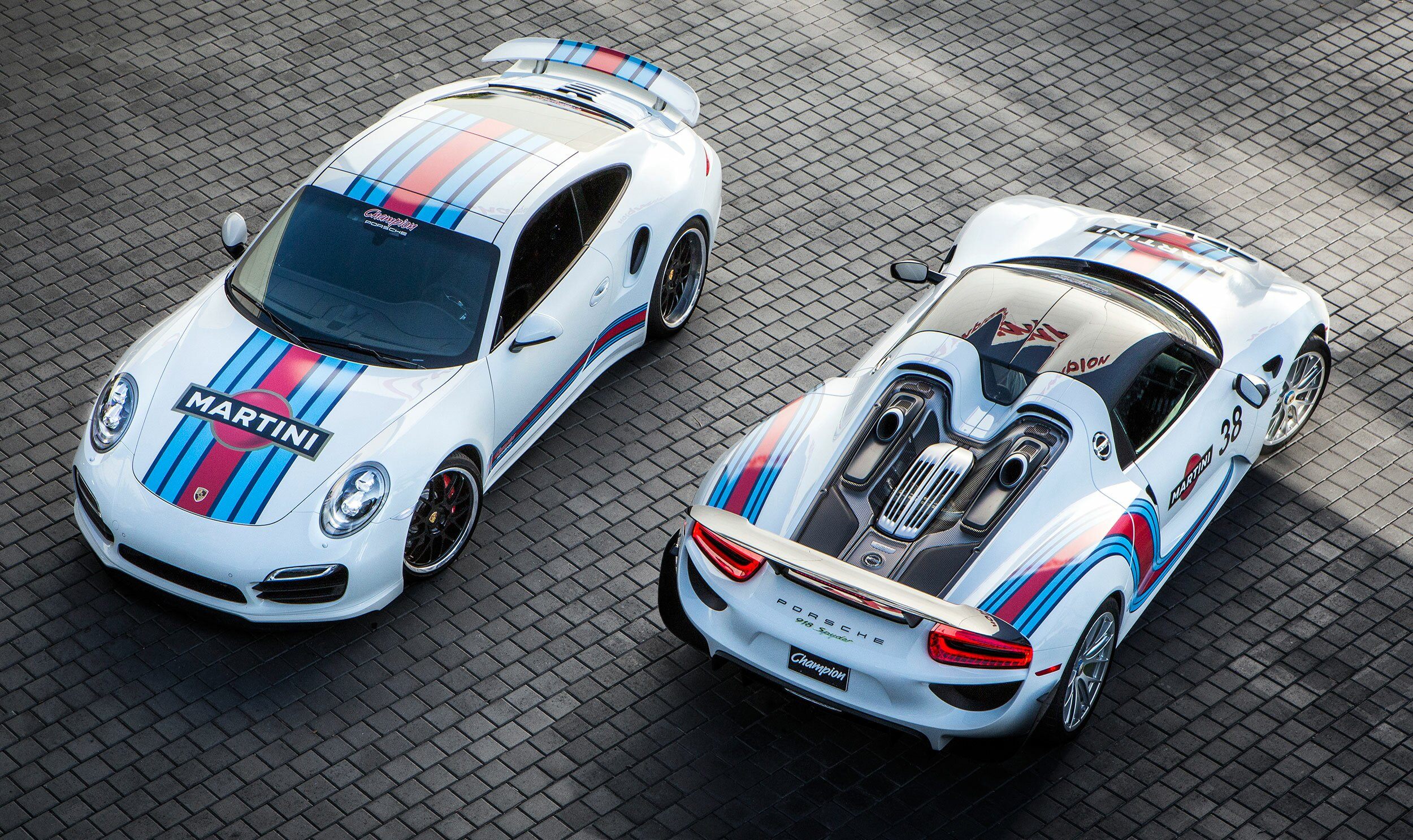 Martini Racing 918 Spyder Champion Porsche The Werkshop The Place For Automotive