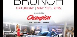 Champion Porsche | Cars & Brunch | Saturday, May 16