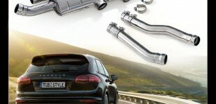 Tubi Style Exhaust Systems | Porsche Cayenne Turbo 2014+