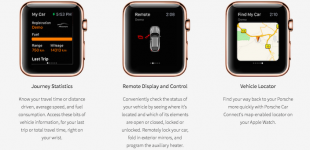Apple Watch To Communicate With Porsche Vehicles