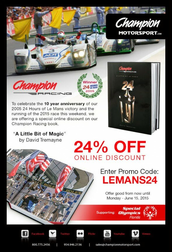 Champion-Book-Promo-24-Hours-of-Le-Mans