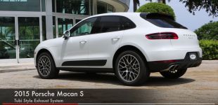 Porsche Macan S Tubi Style Exhaust System