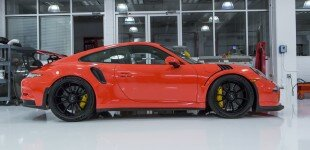 Porsche GT3RS Lava Orange Tubi Style / Sharkwerks Exhaust Install