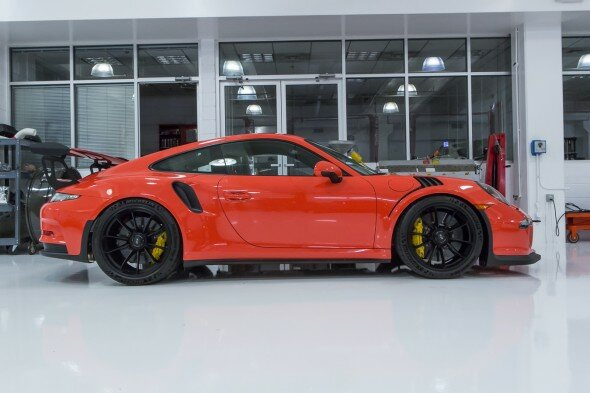 Porsche GT3RS Lava Orange